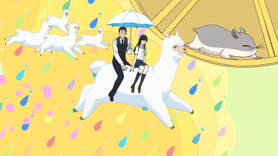 恋は雨上がりのようにアニメ第1話 あきらと近藤