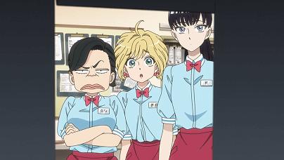 恋は雨上がりのようにアニメ第1話 あきら、ユイ、久保