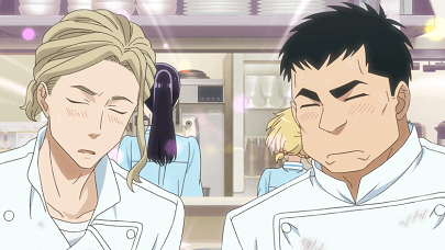 恋は雨上がりのようにアニメ第2話 加瀬と大塚