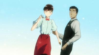 恋は雨上がりのようにアニメ第2話 あきらと近藤