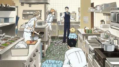 恋は雨上がりのようにアニメ第2話 キッチン
