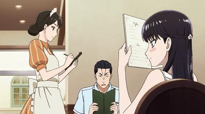 恋は雨上がりのようにアニメ第4話 あきらと近藤